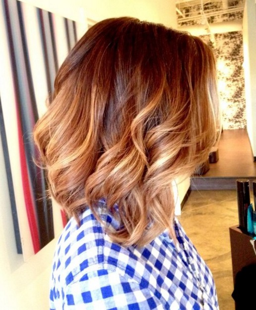 ombre hair cabelo curto passo a passo